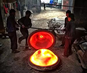 铸造造型,翻砂造型,模具铸造造型,铁锅铸造生产