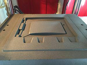中铸造型设备粘土砂翻砂造型砂型效果