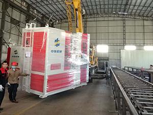 中铸机械全自动造型机发往河南禹州