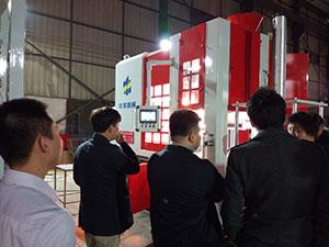 Z4555型号造型机出口韩国