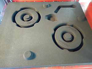 空压机轮子砂型造型效果