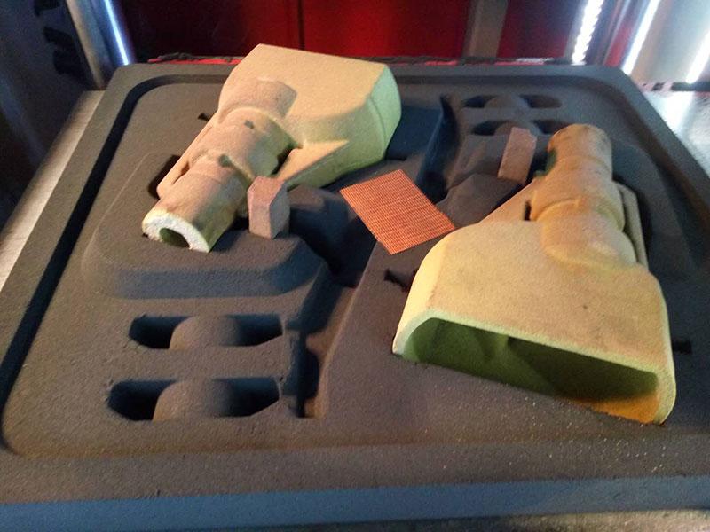 减速壳砂型