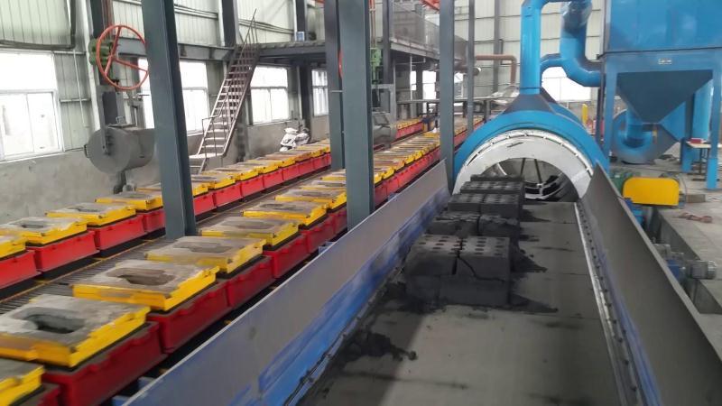 自动化造型生产线