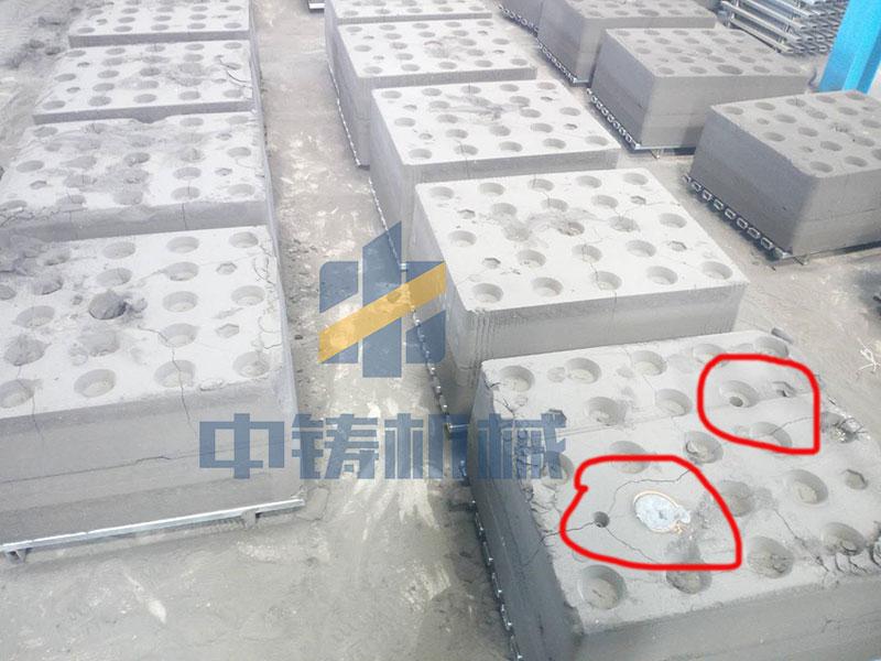 造型机砂型排气孔的设计